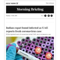 Indian expat found infected as UAE reports fresh coronavirus case