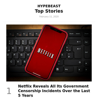 Top Stories This Week: Netflix Reveals All Its Government Censorship Incidents Over the Last 5 Years and More