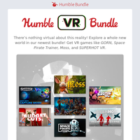 Explore a whole new world with a bundle of virtual reality games!