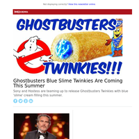 Ghostbusters Blue Slime Twinkies Are Coming This Summer