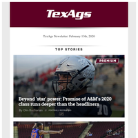 Promise of A&M's '20 class runs deeper than the headliners & Williams, Aggie players react to loss