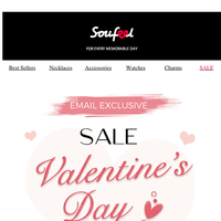 Valentines Day Sale - 20% off sitewide + Free gift on order $39+
