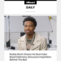 Roddy Ricch Shares His Best Kobe Bryant Memory, Discusses Inspiration Behind 'The Box'