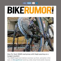 SRAM Budget Mullet hack // Santa Cruz e-bike // Pressure map saddle review // BH, Fox, Mercedes, Strava, Vision & more!