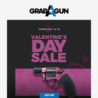 😍❤️Valentines Day Deals You Will Fall In Love With! New Trump Rifle! Match Grade Ammo On Sale!😍❤️