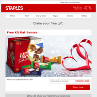 Free Chocolates - why not spoil them!