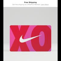 Send a Nike Digital Gift Card