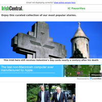 Happy Valentine's Day! This Irish hero still gets Valentines nearly a century after his death