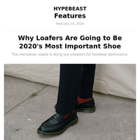 Why Loafers Are Going to Be 2020's Most Important Shoe