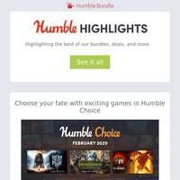 This week at Humble: Frostpunk in Humble Choice, Lovers x Fighters & VR Sales, and more