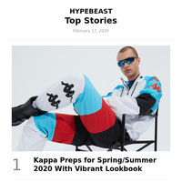 Top Stories This Week: Kappa Preps for Spring/Summer 2020 With Vibrant Lookbook and More