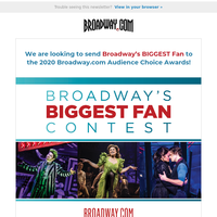 Are You Broadway's Biggest Fan?