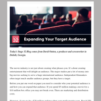 Blog Update: Expanding Your Target Audience