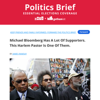 The Black NYC Pastor Who Supports Bloomberg