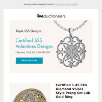 Triple SSS Designs | Certified SSS Valentines Designs