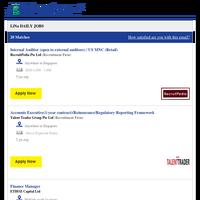 Internal Auditor (open to external auditors)  / US MNC (Retail) + 19 new jobs - Job Alert from JobStreet.com