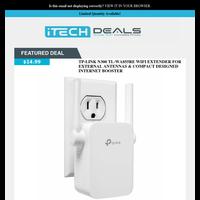 TP-Link Wi-Fi Range Extender $15 Shipped!