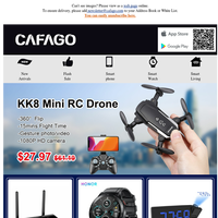HONOR Magic Watch 56%off+ New RC Drone $28+ Xiaomi Ceiling Light $61+Ulefone Note 7 $63