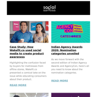 Case Study: How Wakefit.co used social media to create product awareness; Indian Agency Awards 2020: Nomination categories unveiled and more  | Social Media Newsletter