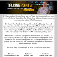 Correction: Q&A on Sports Betting with the Las Vegas Sun and Boyd Gaming