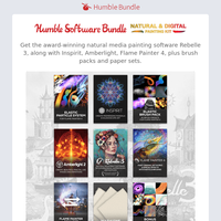 🎨🖌️ Create realistic artwork with this bundle of software including Rebelle 3 and more!