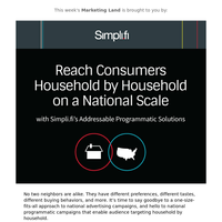 National Programmatic, Household by Household