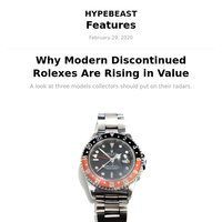 Why Modern Discontinued Rolexes Are Rising in Value