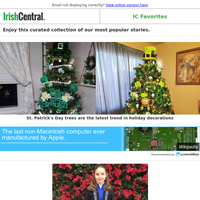 St. Patrick's Day trees are the latest trend in holiday decorations