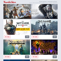 Start your next adventure ⚔️ Up to 90% off RPGs! Deals on The Witcher 3, Nier Automata, Ni No Kuni 2, and more!