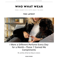 I wore a different perfume every day—these 7 earned me compliments