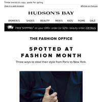 The Fashion Office Report—insider inspiration from Fashion Month