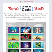 Learn all you need to start building games, apps, and websites!