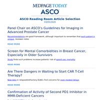 Guidelines Panel Chair on Best Practices for Imaging in Advanced Prostate Cancer