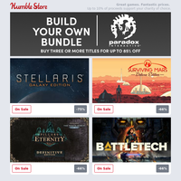 Build your own Paradox Bundle of strategy games + save on GTA, Rainbow 6 Siege, The Witcher, and more this weekend!