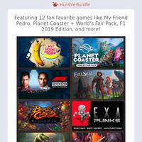 Take a peek at March 2020 Humble Choice games!