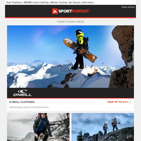 O'Neill Clothing  | DARE 2 B | Waterproofs | Oakley Sunglasses | Fjern | Up to 79% Off!