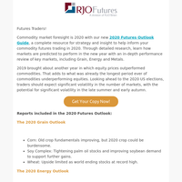 Is Your Trading Foresight 2020? Get Our 2020 Futures Outlook Guide