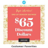 Bye Winter, Hello Savings!
