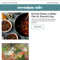 10 Irish Dishes to Make This St. Patrick's Day