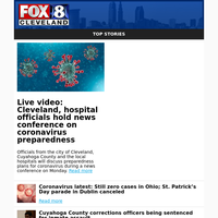 Live video: Cleveland, hospital officials hold news conference on coronavirus preparedness