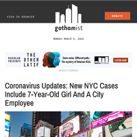 Coronavirus Updates: New NYC Cases Include 7-Year-Old Girl And A City Employee