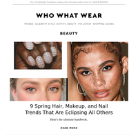 9 hair, makeup, and nail trends that are about to be everywhere