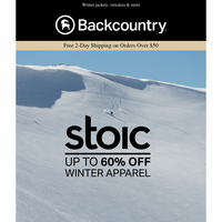 Up to 60% Off Stoic Winter Apparel