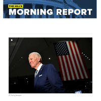The Hill's Morning Report - Biden wins Michigan, Missouri, Mississippi and Idaho primaries on Tuesday, locking in commanding delegate lead | Sanders's campaign faces a question: What now? | Trump, Democrats clash over payroll tax holiday as econom