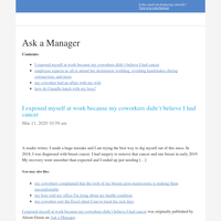 Ask a Manager - new articles