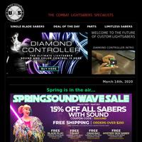 The Spring Soundwave Sale Begins NOW!