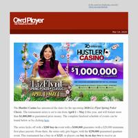 Hustler Casino's 2020 Liz Flynt Spring Poker Classic Features Over $1 Million In Guarantees