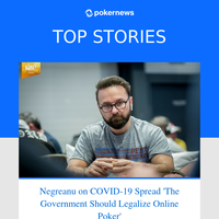 The Week COVID-19 Entered the Poker World