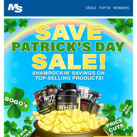 Epic St. Patrick's Day Sale
