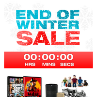 The Rockstar End of Winter Sale – ENDS TOMORROW